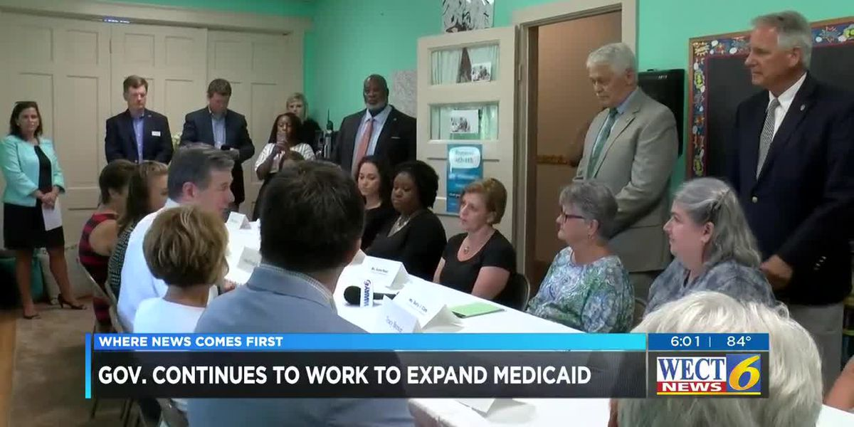 Governor wants Medicaid expansion to be part of state budget talks