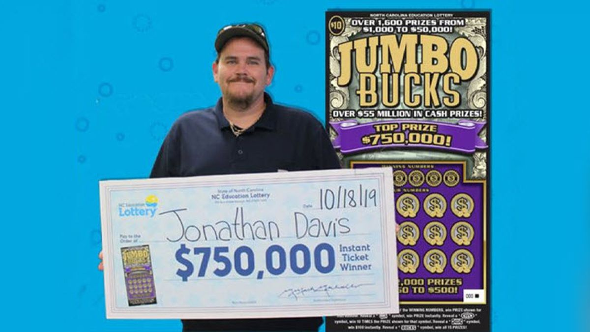 N.C. man taking grandmother on cruise after $750k scratch-off lottery win