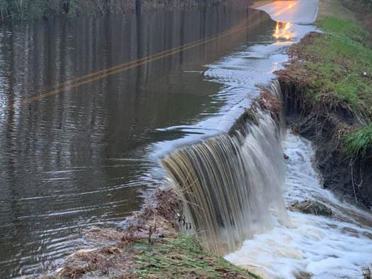 TRAFFIC ALERT: Malmo Loop Road NE washed out