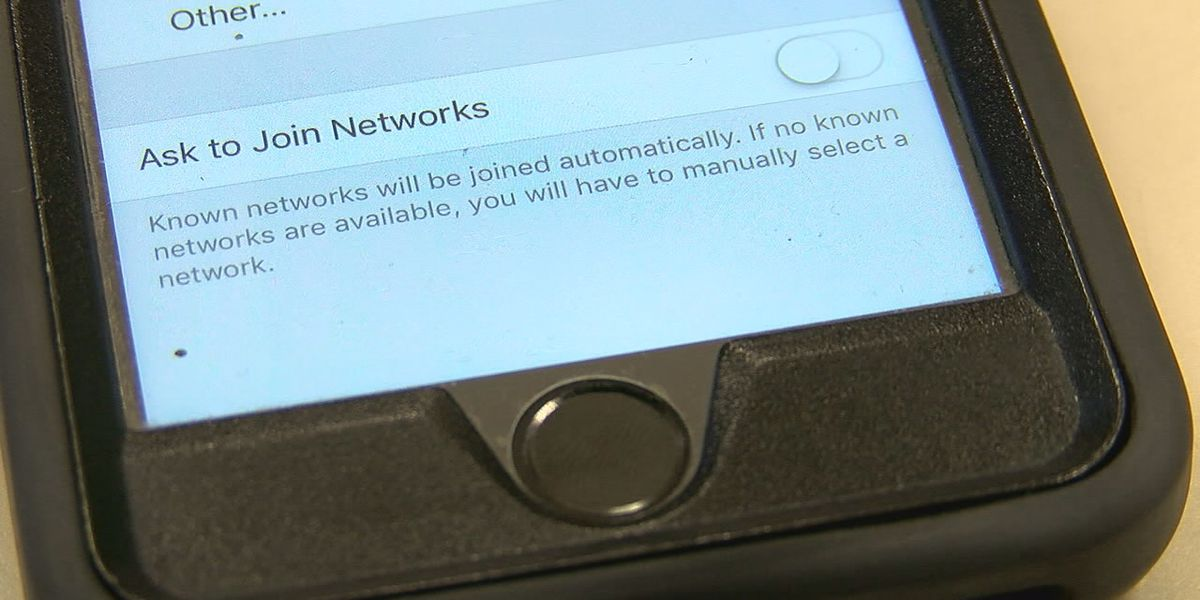 Beware of public WiFi connections, official says