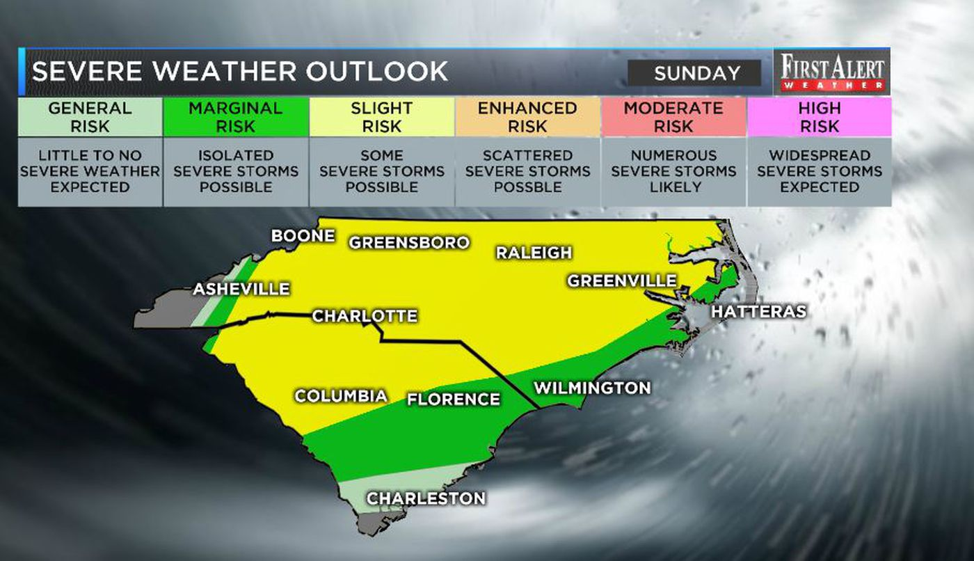 First Alert Forecast: Tornado Watch canceled, risk for strong to
