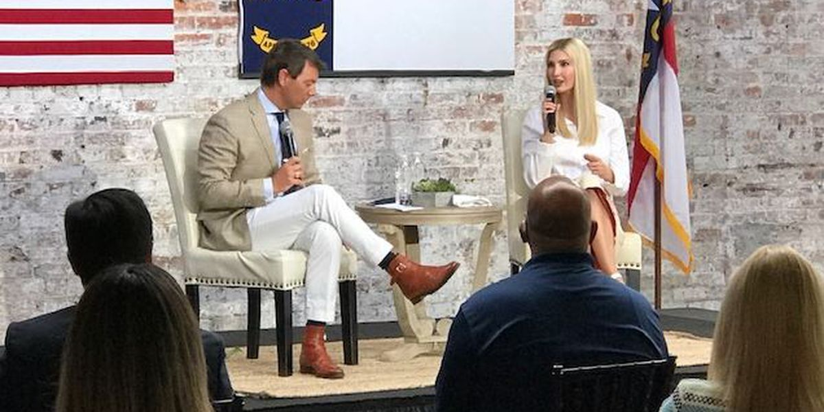 Ivanka Trump campaigns for her father in Wilmington