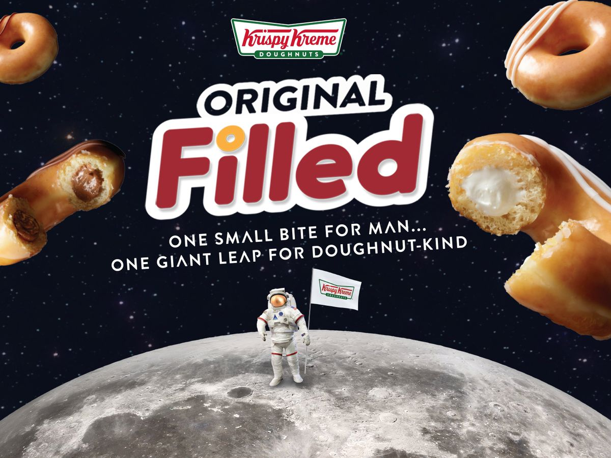 Krispy Kreme debuts new doughnut for 50th anniversary of Apollo 11 moon landing