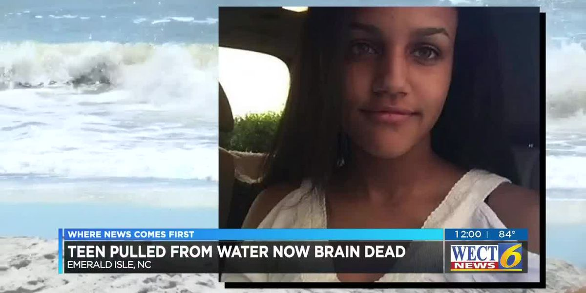 Raleigh teen rescued from rip currents is brain dead, organ donation set for Saturday