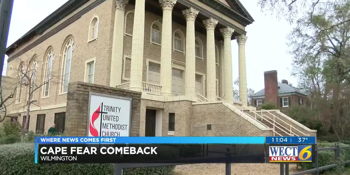 Trinity United Methodist Church hopes to make a comeback by Easter Weekend