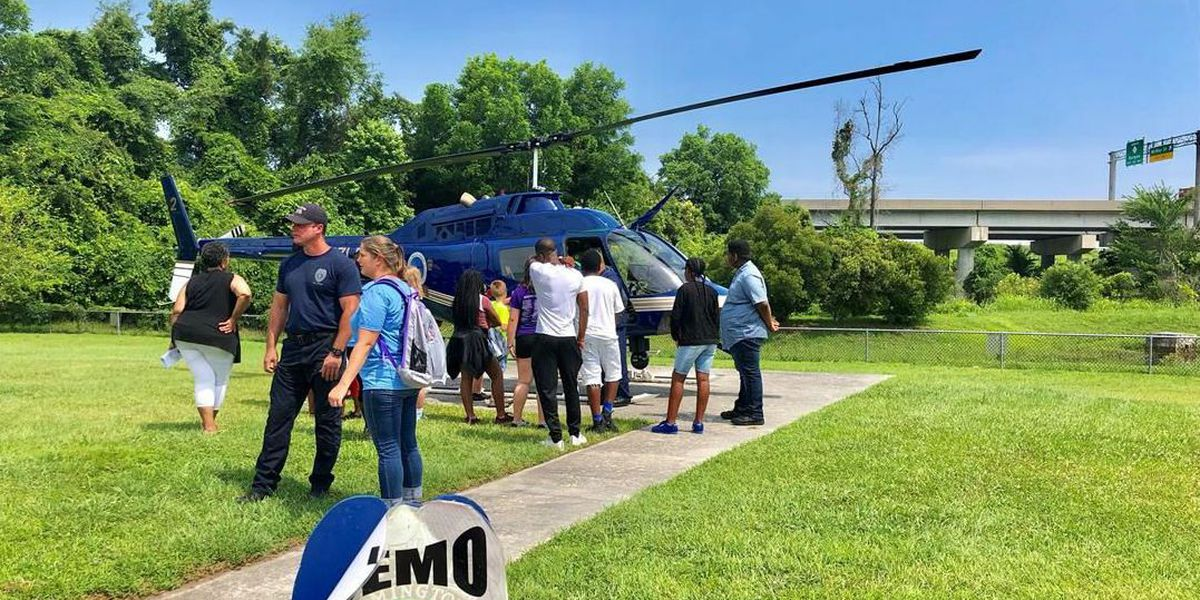 Wilmington Police Department hosts Cop Camp for youngsters