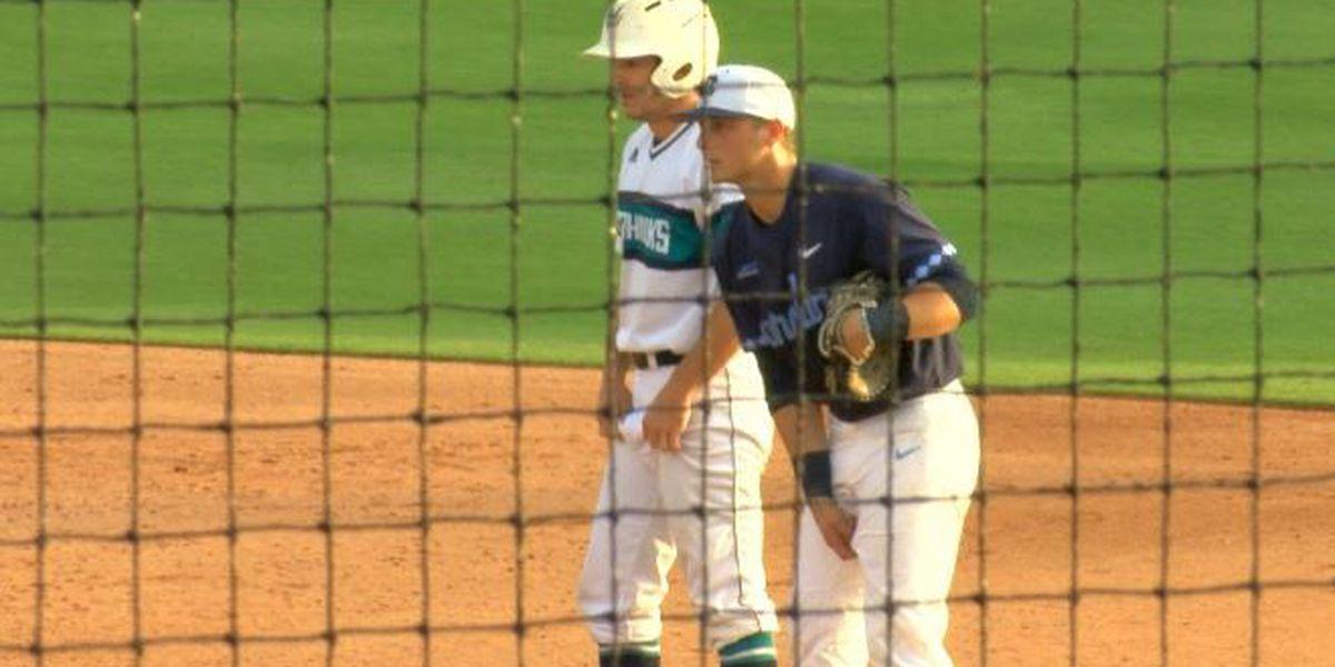 Diamond Hawks sweep season series against North Carolina
