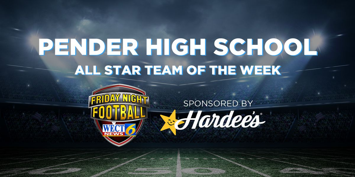 Pender named WECT All Star team of the week