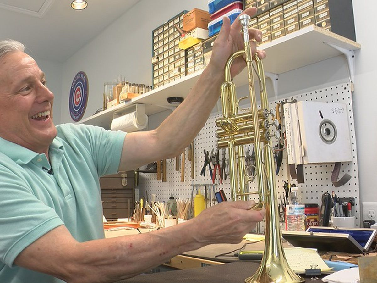 Cape Fear Comeback: Varno's Musical Instrument Repair reopens after Florence