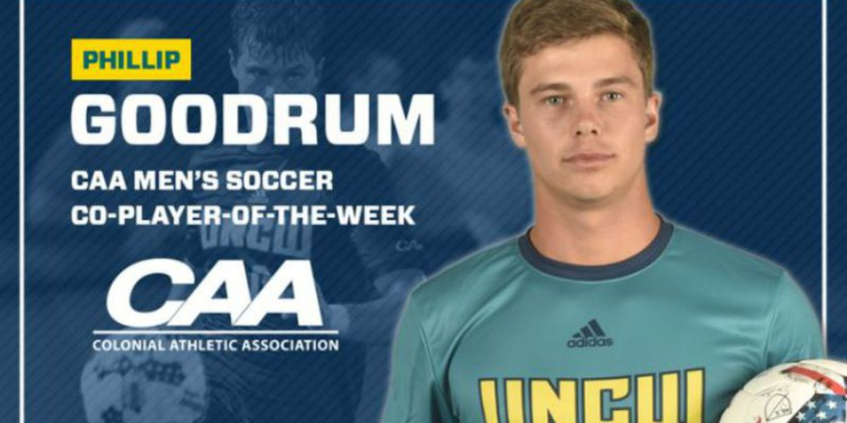 UNCW's Goodrum earns CAA soccer honor