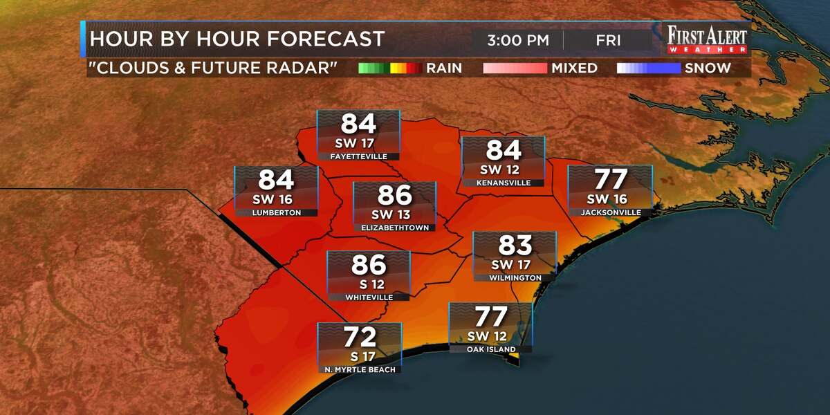 First Alert Forecast: toasty temps on tap for the first full day of Spring