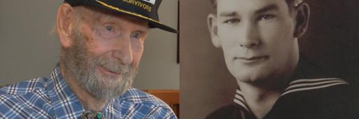 """Leslie """"Bud"""" Hollenbeck: The bomb that nearly killed him at Pearl Harbor"""