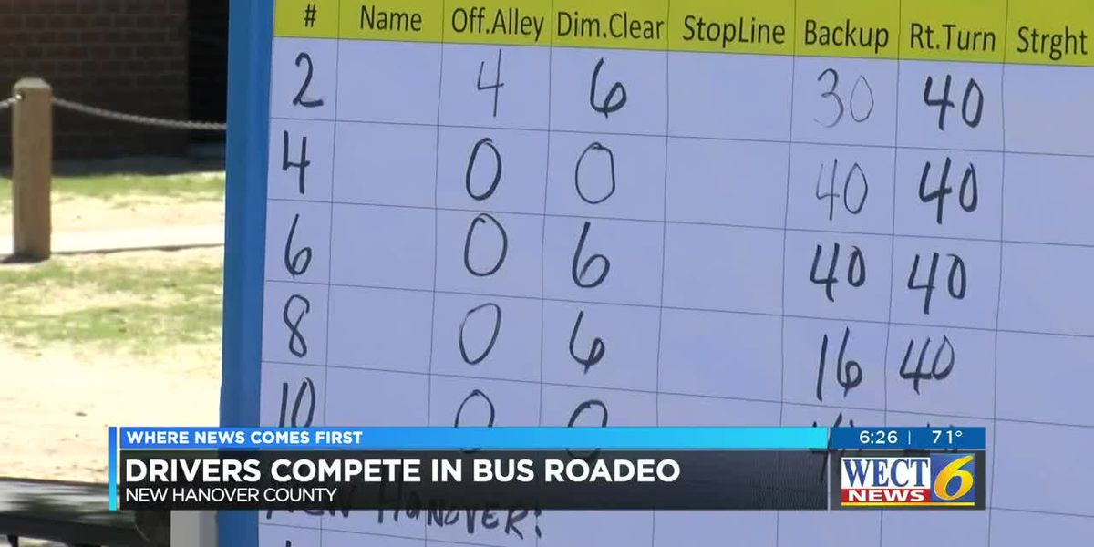 Area bus drivers compete in Bus Roadeo