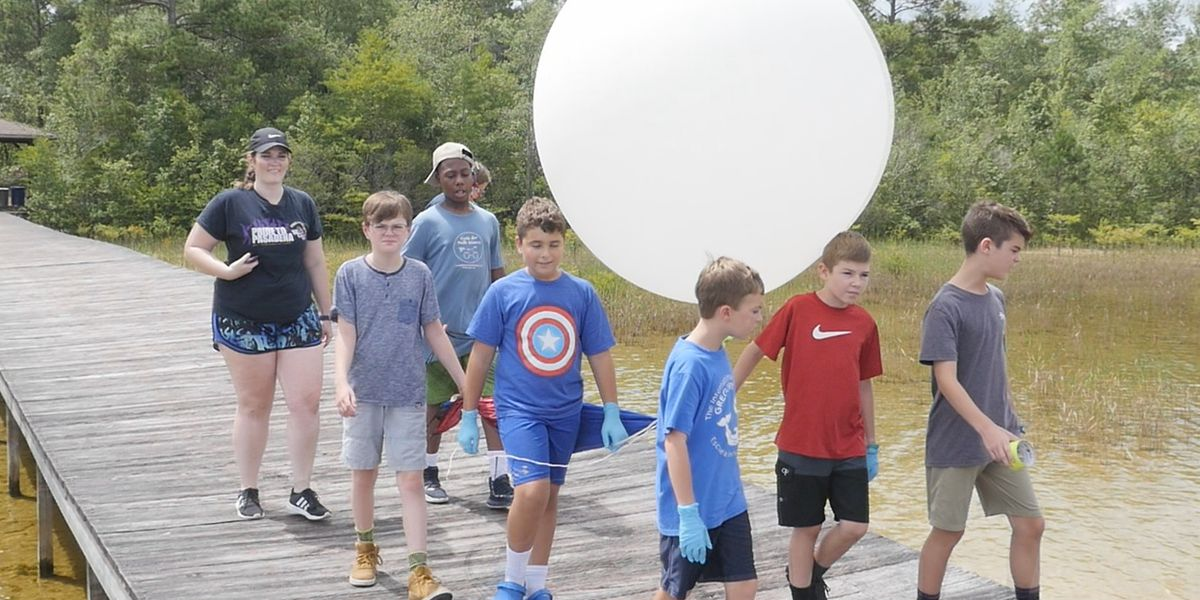 Camp fosters young people's interest in science, technology and more