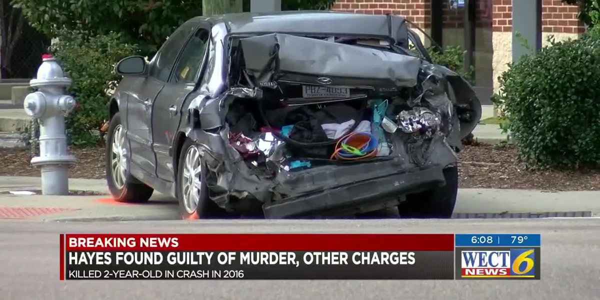 Man accused of killing 2-year-old in 2016 crash found guilty of second-degree murder, other charges