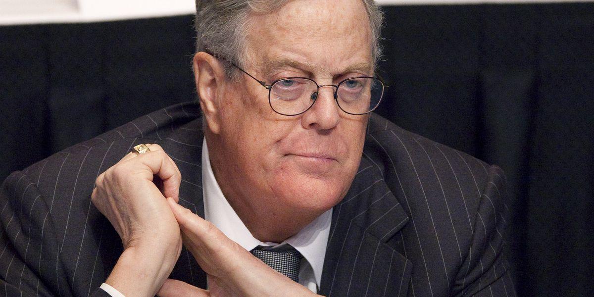 Billionaire conservative donor David Koch dies at age 79