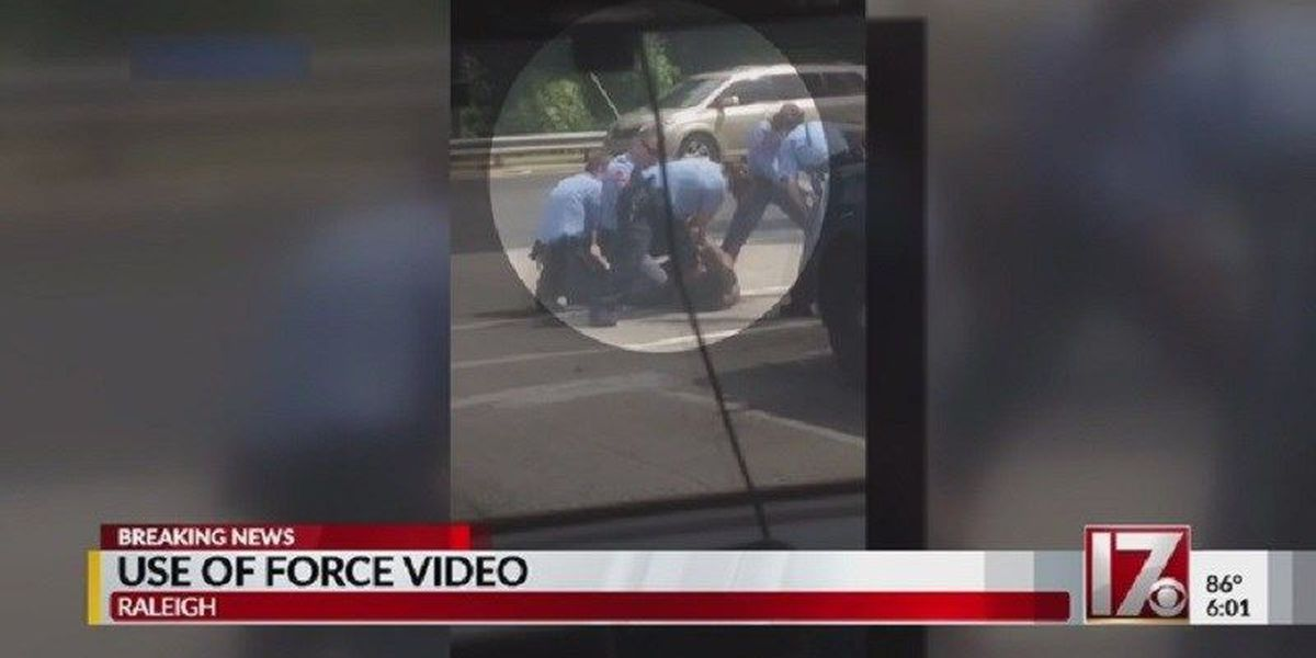 NAACP says Raleigh police actions caught on video were not justified
