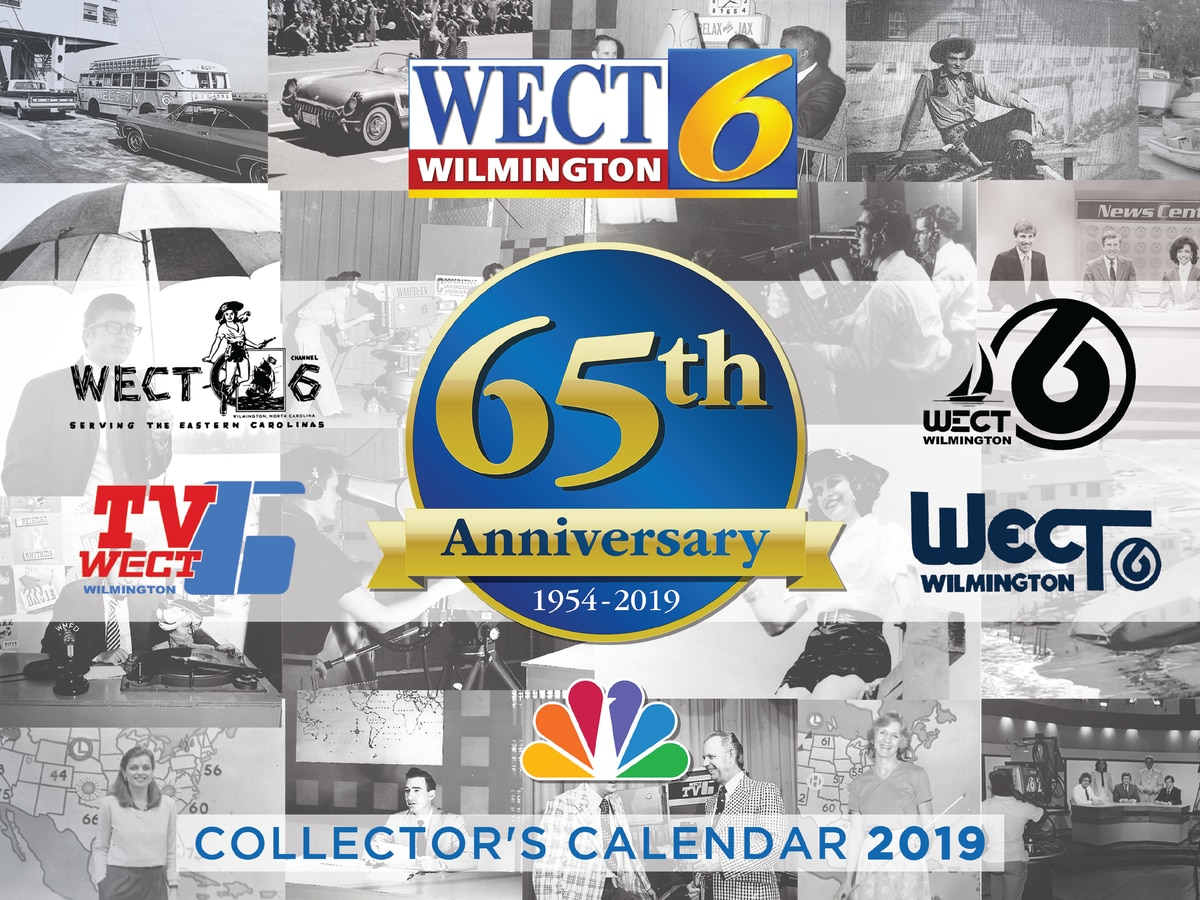 WECT Collector's Calendar Pickup Locations
