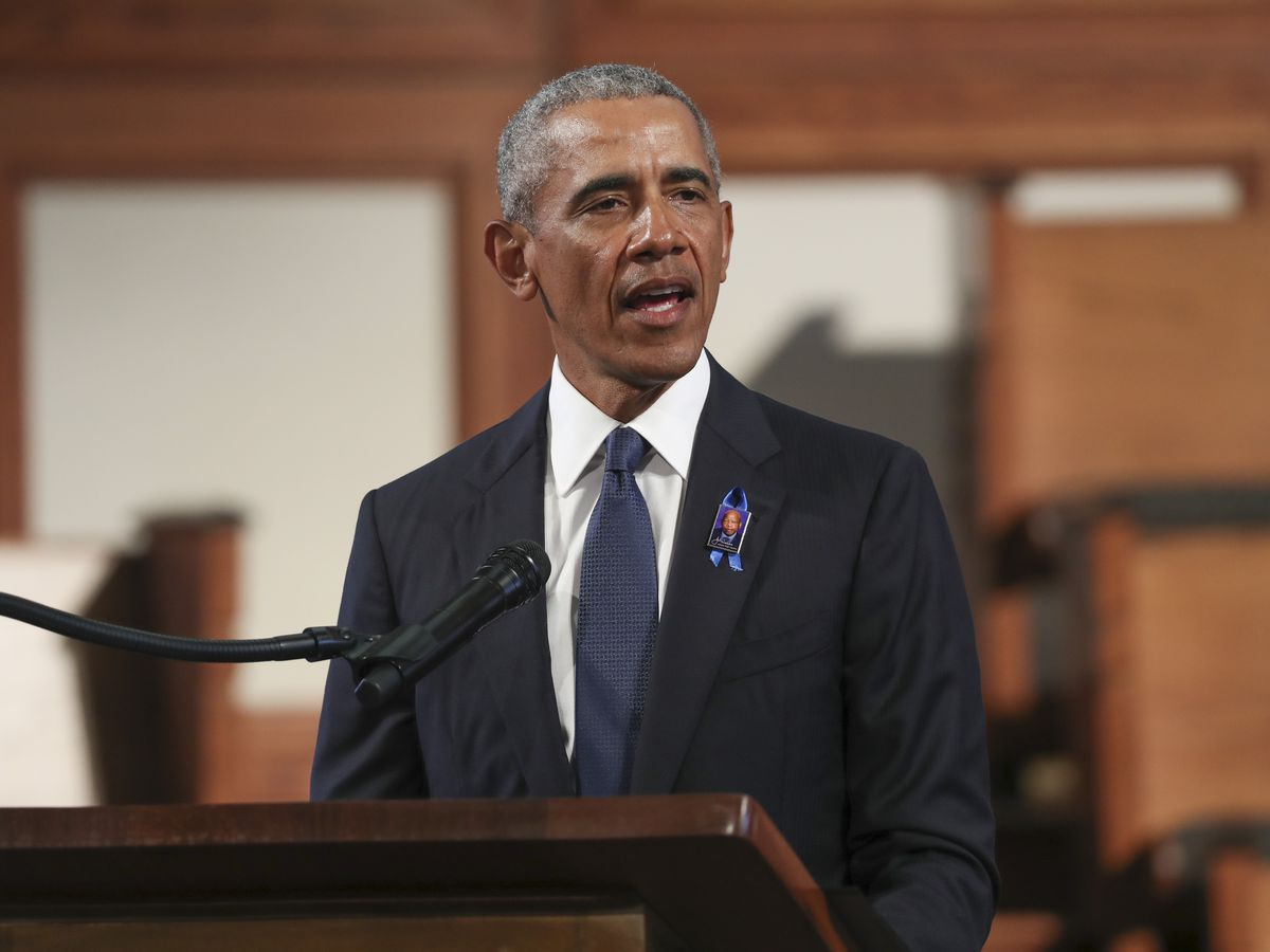 In pitch for Biden, Obama urges voters to cast Trump out