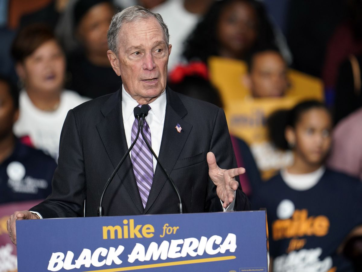 2020 Democrats step up attacks to blunt Bloomberg's rise