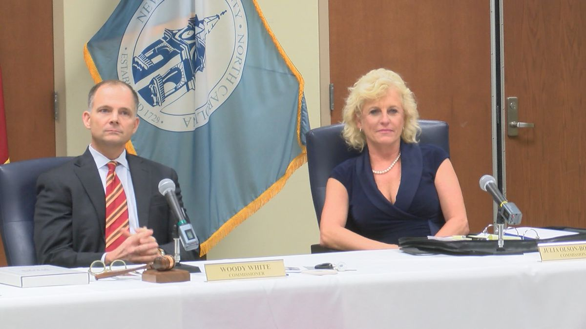 NHC Board of Commissioners makes history by electing female chair and vice-chair