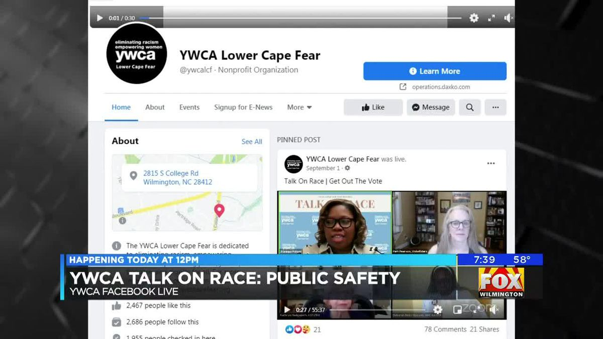 YWCA host talk on race and public safety