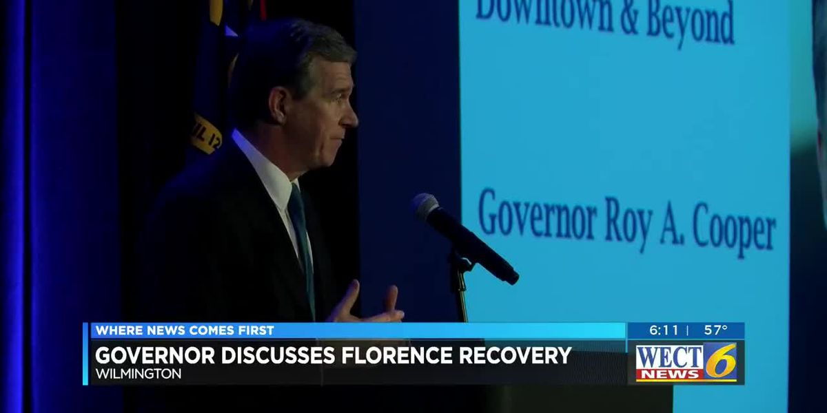 Gov. Cooper visits Wilmington to talk hurricane recovery