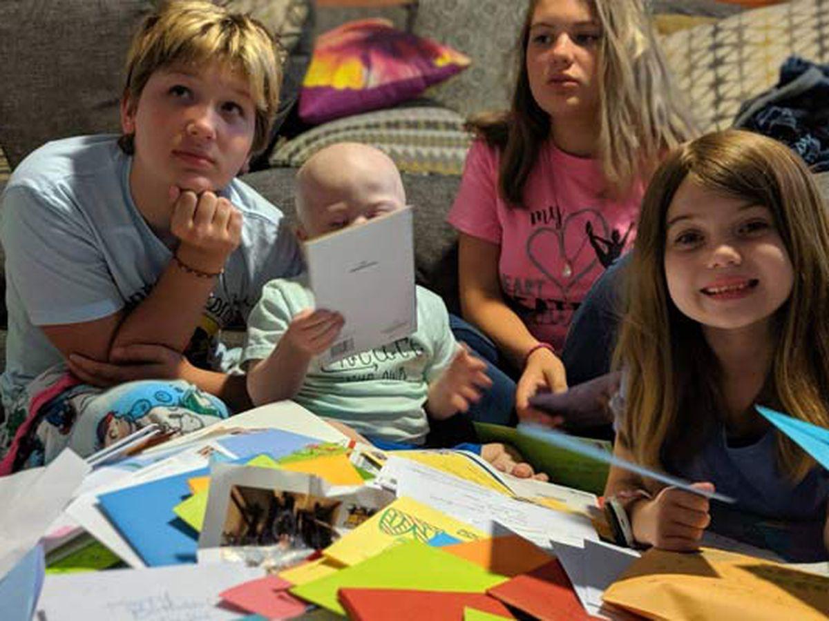 S.C. boy fighting cancer receives 6K birthday cards