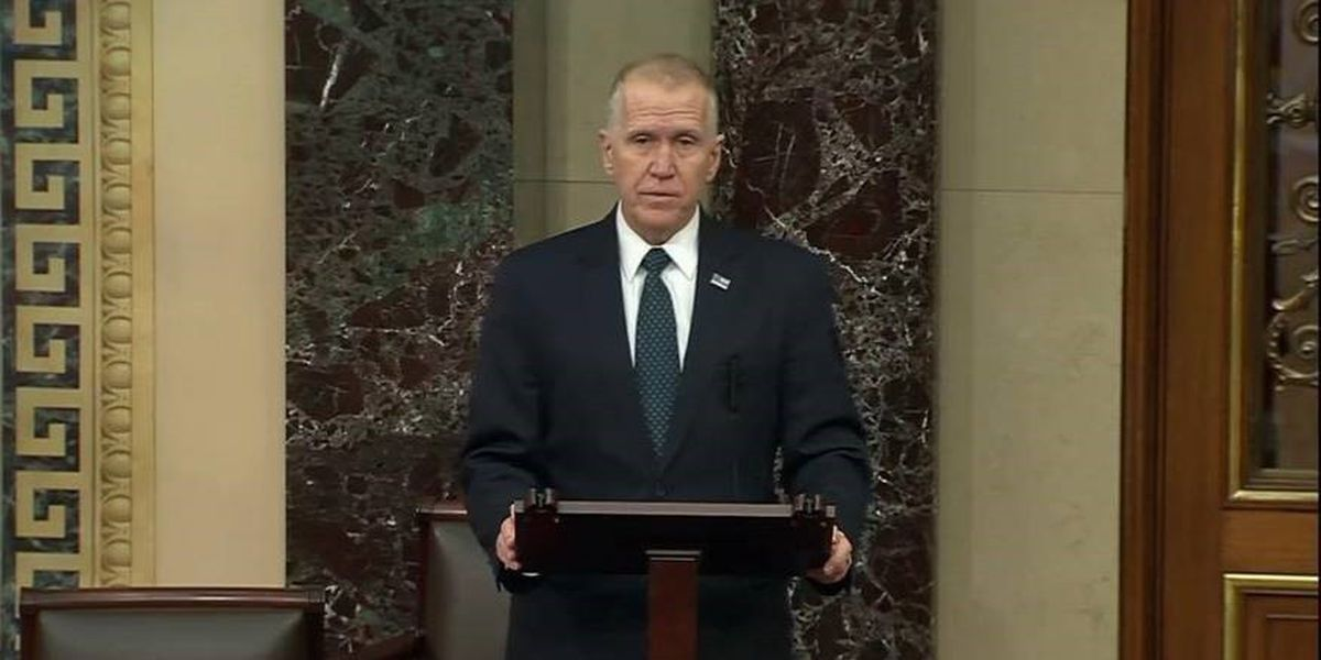 Sen. Tillis' lack of public comment on Electoral College objection is 'silent complicity,' NCDP chair says