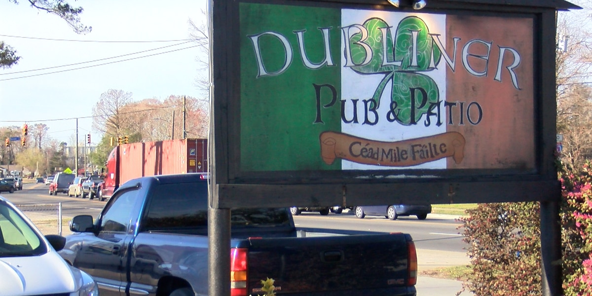 The Dubliner, surrounding businesses still in limbo due to funding for Carolina Beach Road project