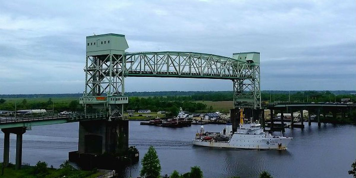 TRAFFIC ALERT: Cape Fear Memorial Bridge to open for Diligence's arrival