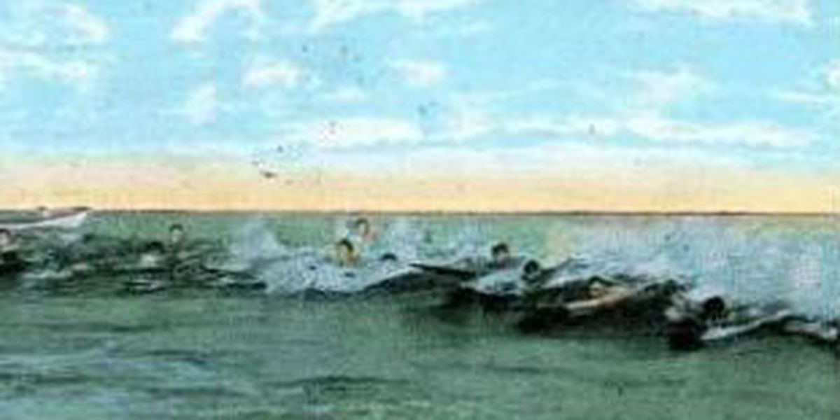 Letter dated Apr. 7, 1909 gave surfing its start at Wrightsville Beach