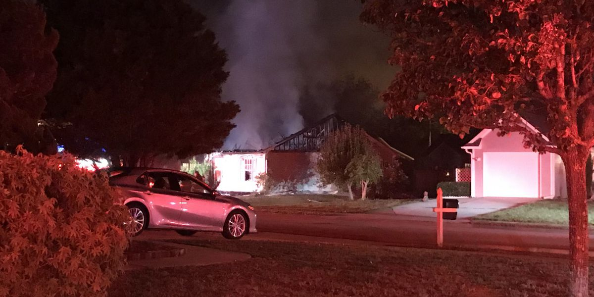 Home destroyed in overnight fire in New Hanover Co., two sent to hospital