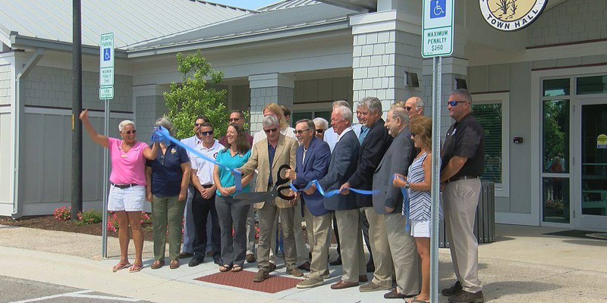 Kure Beach Mayor dedicates and renames new fire station and town hall