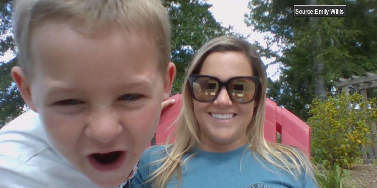 Teacher's preschool son stars in video meant for her classroom