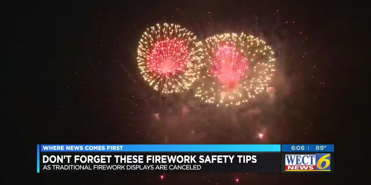 Use fireworks safely this weekend