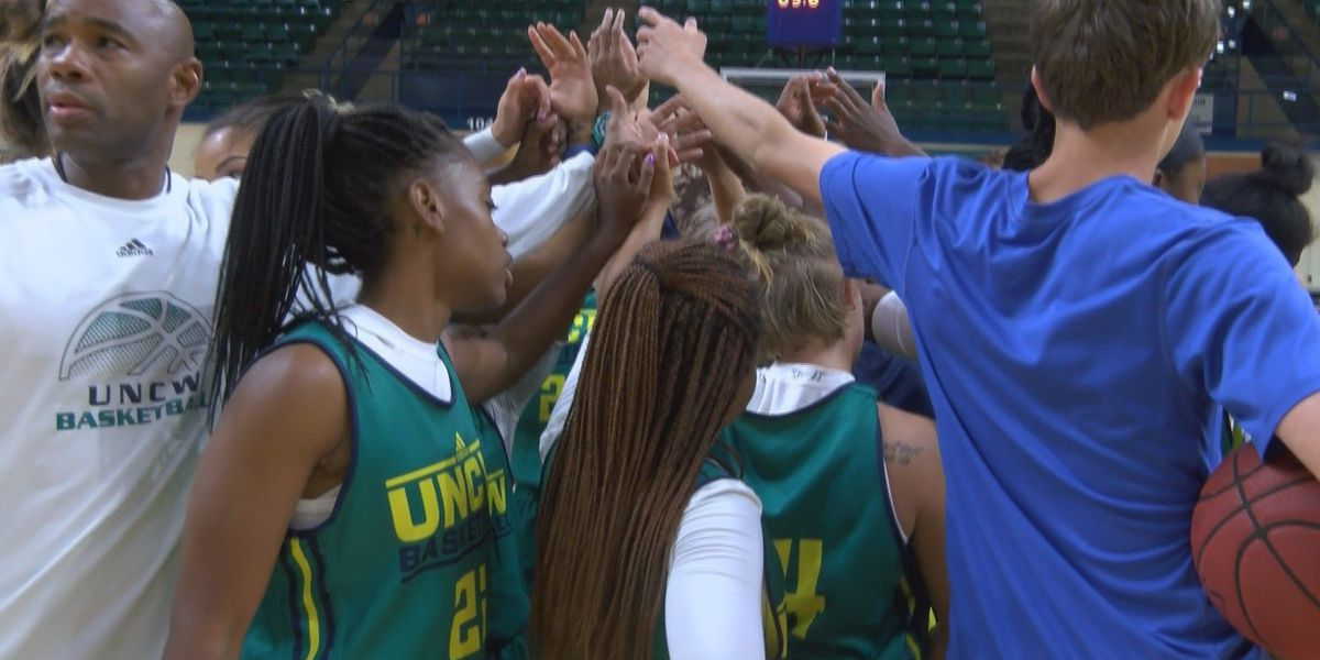 UNCW women's hoops holds annual media day