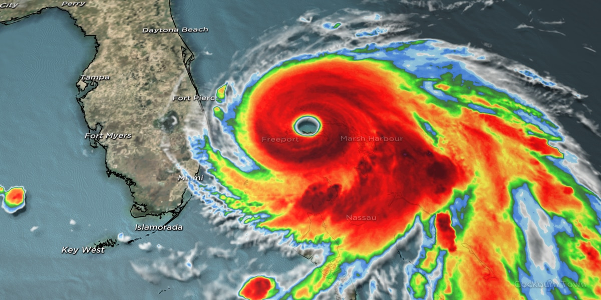 Hurricane Dorian continues to ravage Bahamas as it moves