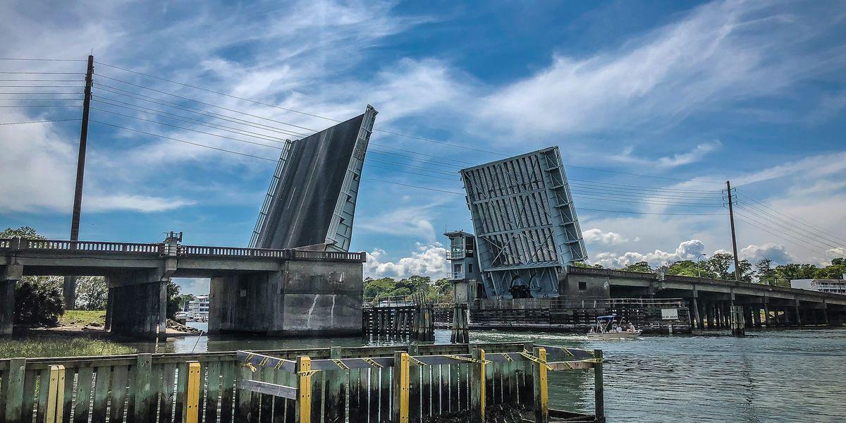 TRAFFIC ALERT: Week-long lane closures on Wrightsville Beach drawbridge start Monday