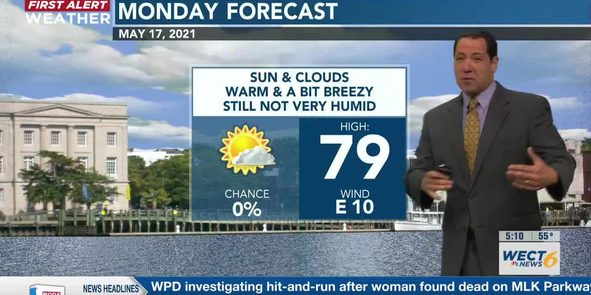 Your First Alert Forecast from Mon. morning, May 17, 2021