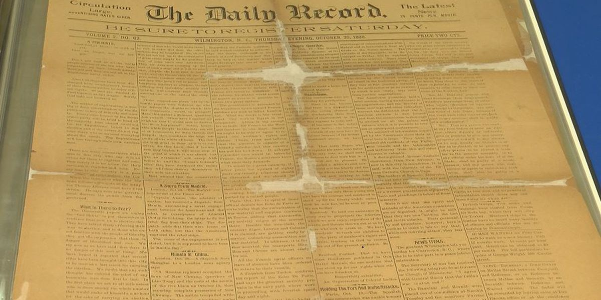 Original copies of 1898 black-owned newspaper rediscovered