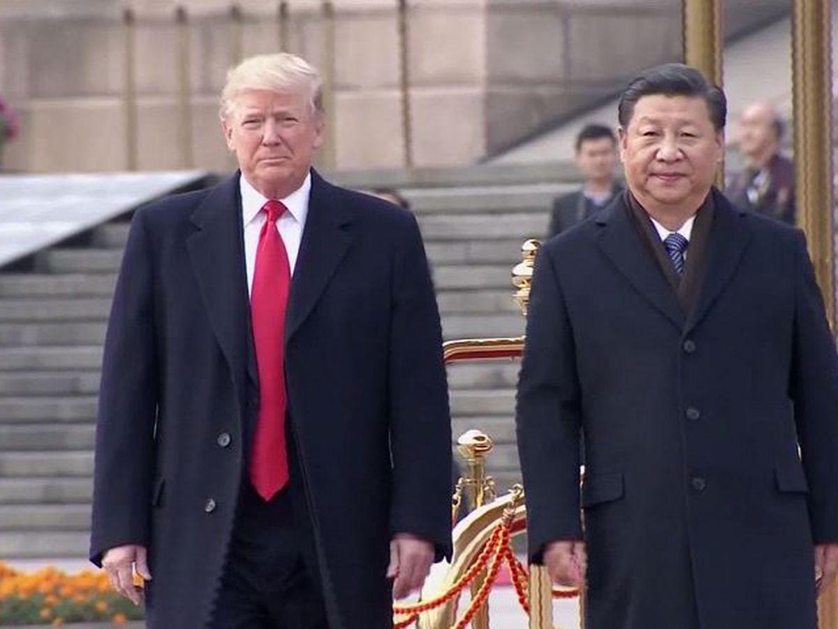 China retaliates on tariffs, stock markets go into a slide