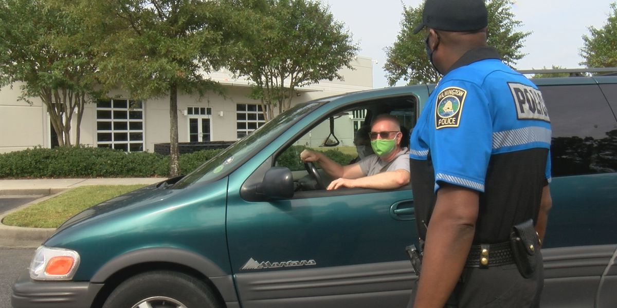 Wilmington Police Department hosts drive-through demo day