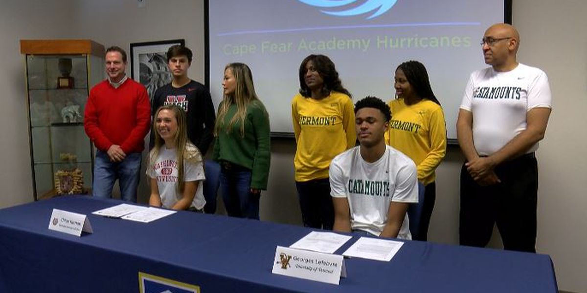 Cape Fear Academy hosts signing day event