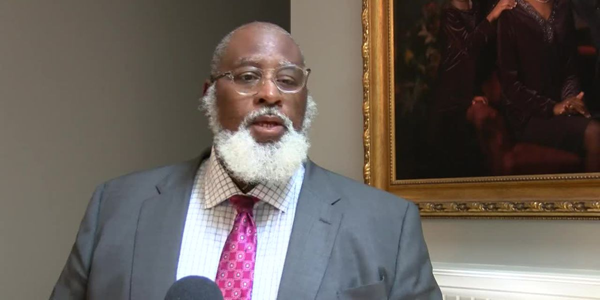 RAW: County Commissioner Jonathan Barfield reacts to Sunday night protest