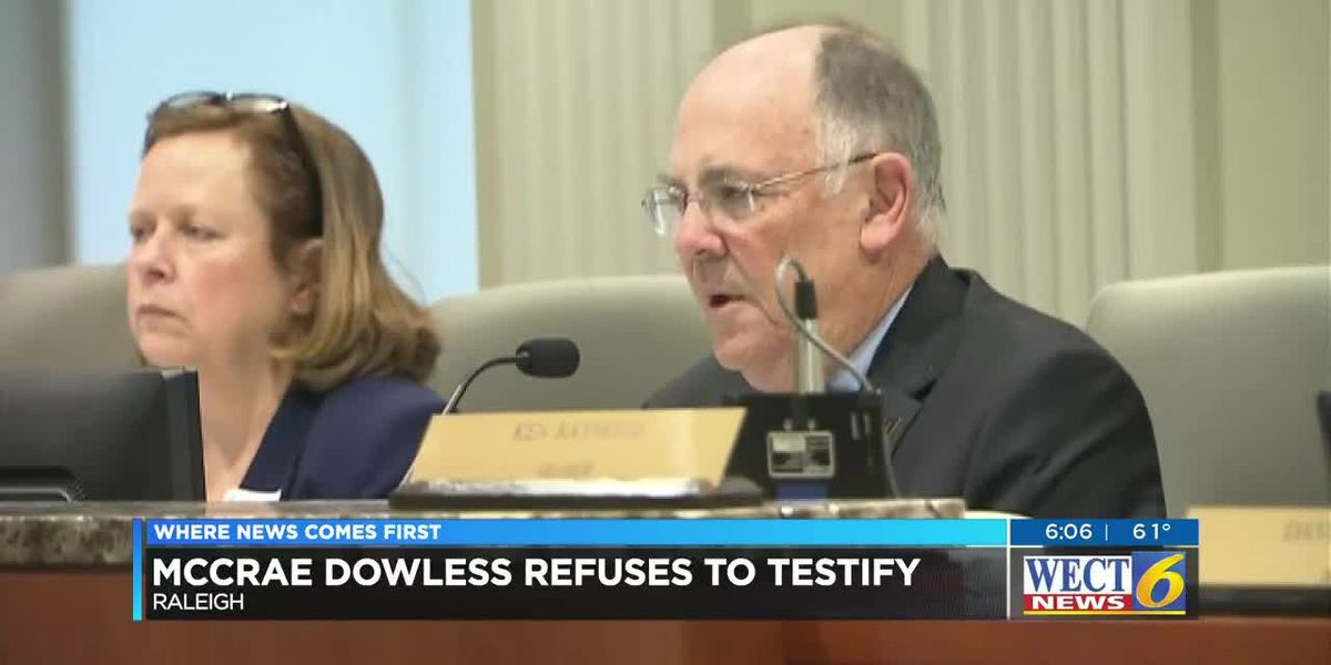 NC9 hearing: McCrae Dowless, man at the center of the investigation into election fraud, refuses to