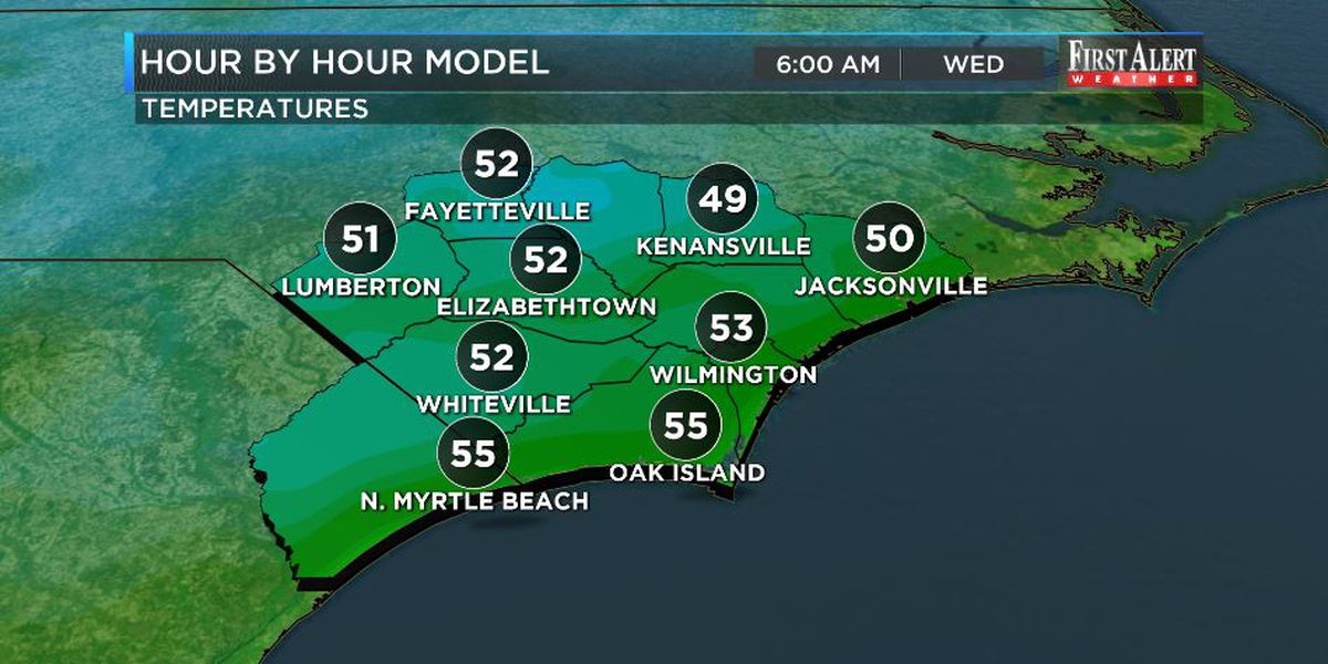 First Alert Forecast: by mid-May standards, a rare break in humidity