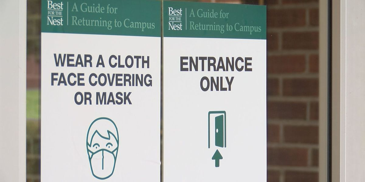 'Best for the Nest': UNCW readies for start of semester with signs, resources