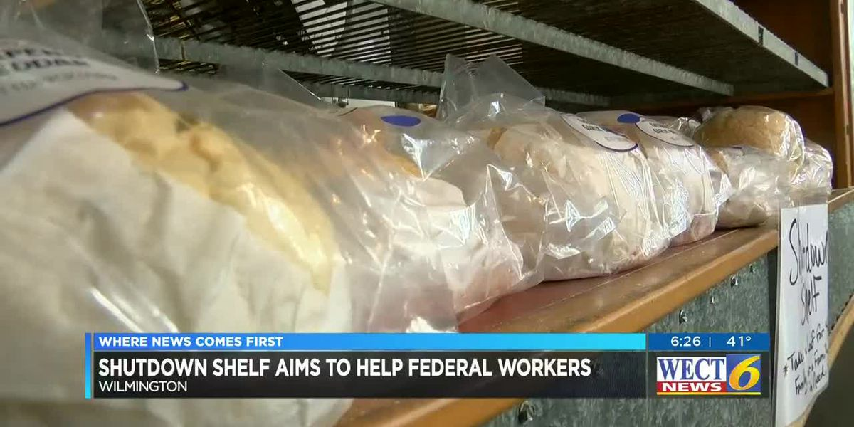Wilmington bakery adds Shutdown Shelf for those affected by government shutdown