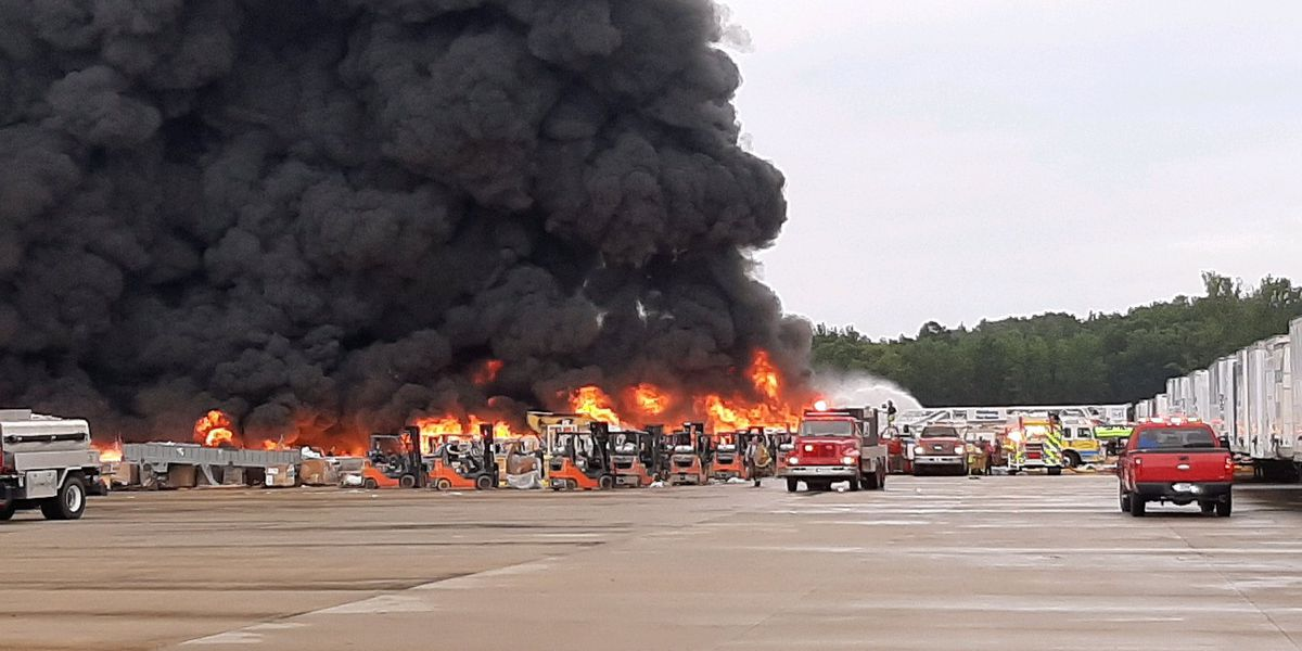 5 firefighters hurt in massive fire at Carolina Poly released from hospital